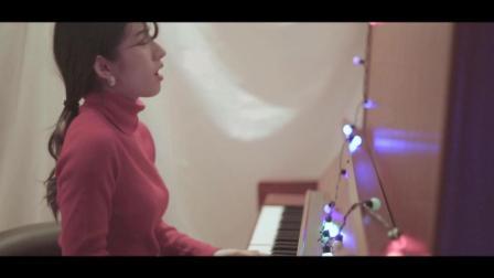 日本美女翻唱《Last Christmasmiyu去年圣诞》钢琴弹