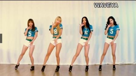 韩国舞蹈上和下 女主播都喜欢跳的舞