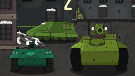 坦克世界搞笑动漫: 对大口径的爱慕, 来自法系火