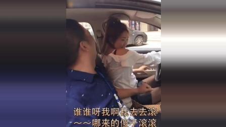 搞笑视频, 美女学车, 瞧, 把教练吓得