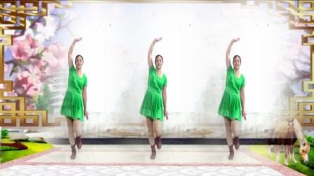 建群村广场舞《触不到你的温柔》32步舞