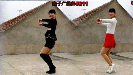 燕子广场舞《DJ的歌》好听好看 双人版