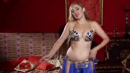 俄罗斯性感美女迷人肚皮舞, 充满魔力的异域风情舞蹈!