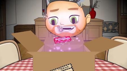 【整蛊动漫】🙀整蛊兄弟把奶奶送到了太空 整弟狂魔Ben的反重力口香糖恶搞!