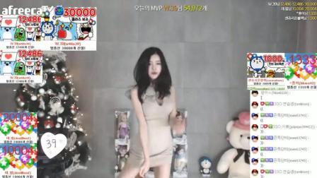 韩国女主播, 性感热舞。