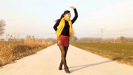 DJ32步自由步《想让雨滴问问你》玫香广场舞 简单易学