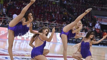 大开眼界! NBA比赛骑士官方啦啦队的热舞, 球迷