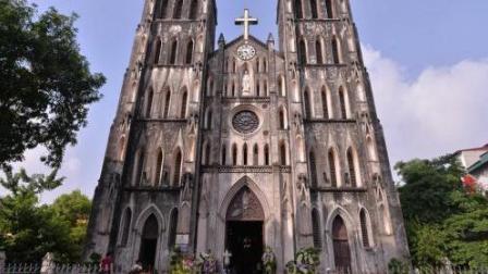 【金萍 迷你Vlog】越南河内最古老的大教堂 041