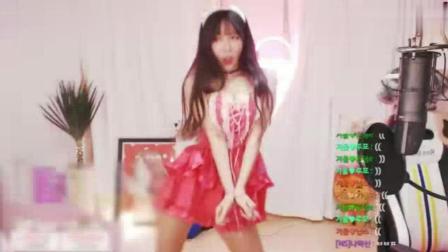 性感兔女郎美女主播跳可爱俏皮韩国女团舞