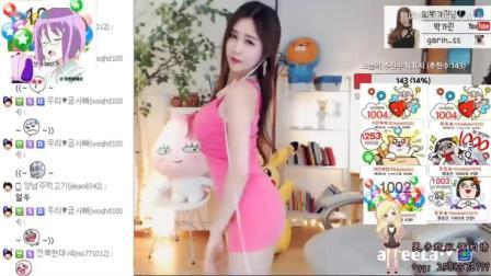 粉红色的诱惑 韩国性感美女主播朴佳琳热舞