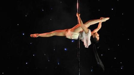 三生三世十里桃花版钢管舞, 跳的这么唯美, 这场