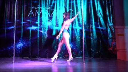 舞力空间 专业钢管舞比赛 超级动感的舞蹈 _ El