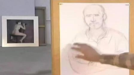 素描古装美女 风景素描画法步骤图片 简单素描教