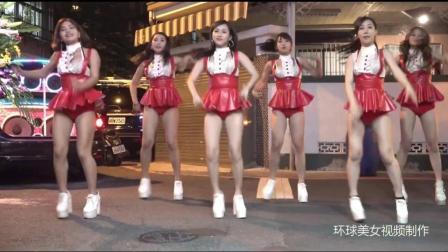 2018娱乐街拍: 美女广场热舞