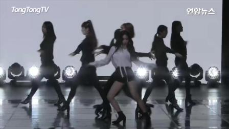 韩国美女歌手金请夏热舞现场, 女神舞姿美翻了