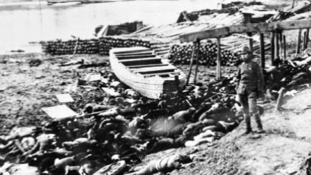 南京大屠杀时日本人自述自拍的真实历史影像