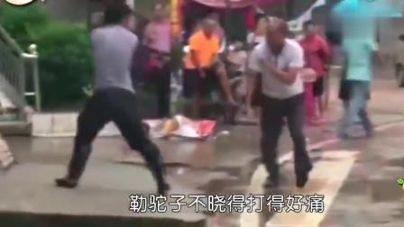 搞笑重庆话配音: 街头大乱斗, 哈哈哈笑死我了