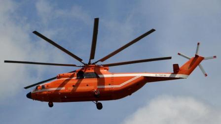 世界最强军用运输直升机, 支奴干排第三, 第一是它