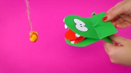 """会""""咬人""""的鳄鱼折纸没玩过吧? 这脑洞可以的!"""