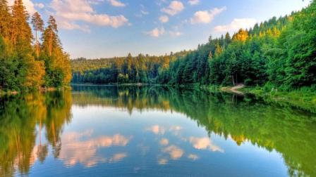 大自然才是杰出的风景作家!