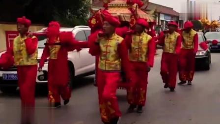 山西临汾曲沃农村结婚习俗: 很传统的风俗, 路人