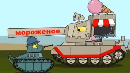 坦克世界搞笑动漫: 为什么4005的头大到离谱? 因为