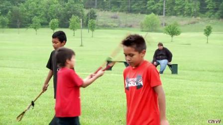 切诺基民族传统体育运动棍子球不是棒子球