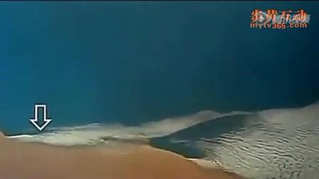 震撼! 宇航员拍下UFO几秒钟穿越地球