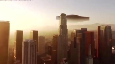 UFO美国造? 加州再现巨大的UFO, 跟一座山差不多