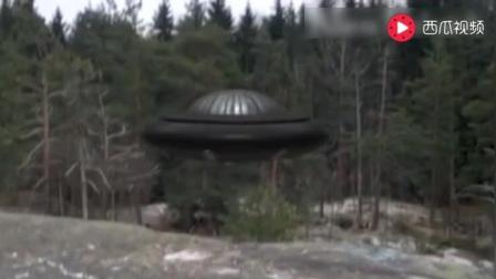 就在最近UFO目击! 灰色的母航, 疯狂的画面, 让人