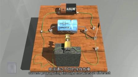看這里電容器的工作原理視頻