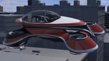 这才是UFO! 没车轮却能垂直起降续航3200公里, 有它