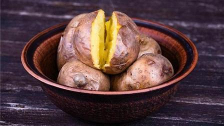 乡村美食猎奇, 灶坑烤土豆, 这才是小时候的味道
