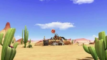 沙漠绿洲搞笑动画, 可怜的小蜥蜴, 只是想捉只苍