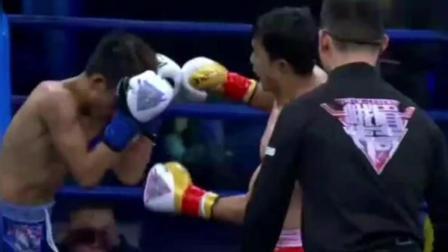 14岁中国初中生KO成年拳手! KO率100%的天选之子!