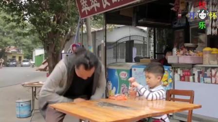爆笑段子: 别以为偷吃小孩子零食没人知道, 分分