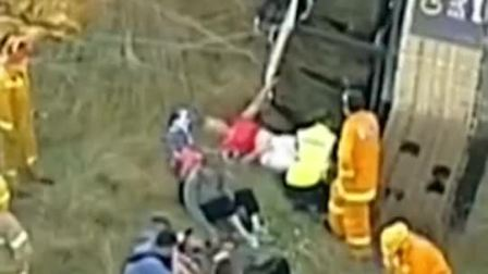 澳大利亚一热气球硬着陆致数人受伤