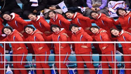 平昌冬奥会:朝鲜美女啦啦队惊艳亮相韩国