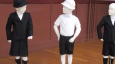 奢侈!小学定制阿玛尼校服