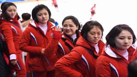 朝鲜美女啦啦队平昌冬奥会!连韩国网友都称赞