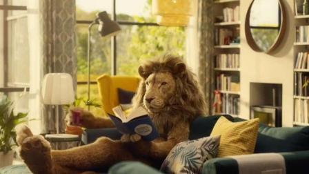 """IKEA创意广告: 狮子先生的""""充电宝""""竟然是"""