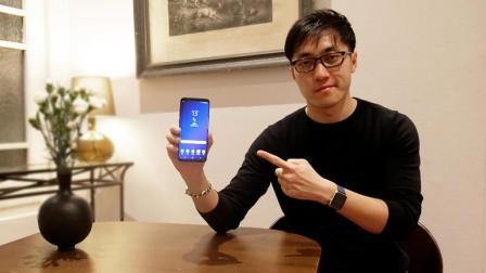 王自如上手體驗三星Galaxy S9 &S9+