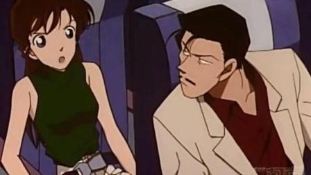 名侦探柯南, 毛利兰和新一单独约会, 小五郎的表情好心痛!视频