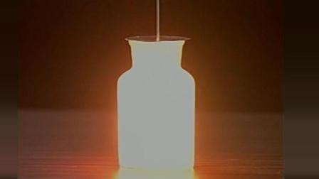 初中化學實驗視頻——第二章——第四集紅磷在氧氣中燃燒