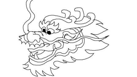 龙头如何画跟李老师学画画