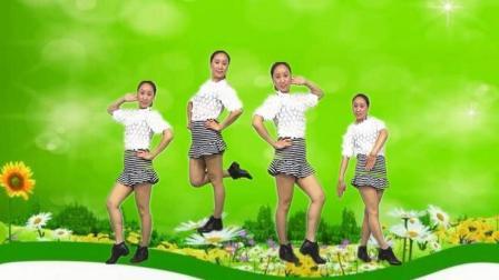 蓝莓思洁广场舞 时尚动感32步 十个群主九个坏 分解教学视频
