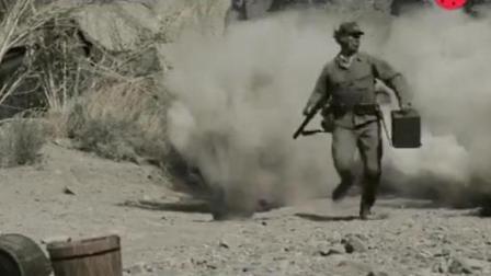 二战经典电影, 硫磺岛战役, 日军被美军狂轰滥炸