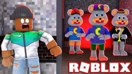 【Roblox游乐园餐厅】体验室内儿童乐园! 精灵鼠小弟玩具总动员! 小格解说 乐高小游戏