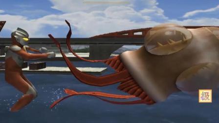 极速游戏解说 迪迦奥特曼强力型一发高能重击拳海扁任性的圆盘