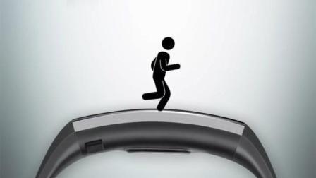 华为运动手环创意广告, 那小人跑起来实在太魔性